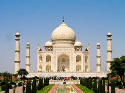 Das Weltwunder Taj Mahal