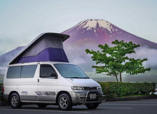 JapanCampers Fuji Roadtrip Campervan Japan