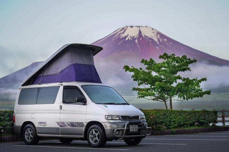 JapanCampers Fuji Roadtrip Campervan Japan